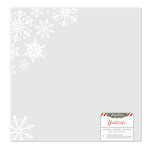 Pink Paislee - Yuletide Collection - Christmas - 12 x 12 Acetate Paper - Snowflakes