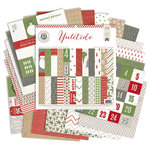 Pink Paislee - Yuletide Collection - Christmas - 12 x 12 Paper Pad