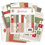 Pink Paislee - Yuletide Collection - Christmas - 6 x 6 Paper Pad