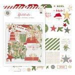 Pink Paislee - Yuletide Collection - Christmas - Ephemera - Acetate and Gold Foil
