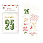 Pink Paislee - Yuletide Collection - Christmas - Mini Foil Envelopes