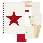 Pink Paislee - Yuletide Collection - Christmas - Journal - Document December