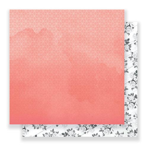 Pink Paislee - C'est La Vie Collection - 12 x 12 Double Sided Paper - Paper 03