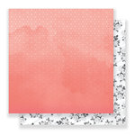 Pink Paislee - C'est La Vie Collection - 12 x 12 Double Sided Paper - Paper 03