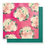 Pink Paislee - C'est La Vie Collection - 12 x 12 Double Sided Paper - Paper 08