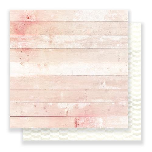 Pink Paislee - C'est La Vie Collection - 12 x 12 Double Sided Paper - Paper 09
