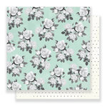 Pink Paislee - C'est La Vie Collection - 12 x 12 Double Sided Paper - Paper 10