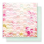 Pink Paislee - C'est La Vie Collection - 12 x 12 Double Sided Paper - Paper 11