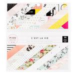 Pink Paislee - C'est La Vie Collection - 6 x 6 Paper Pad