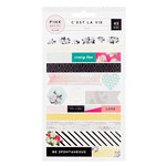 Pink Paislee - C'est La Vie Collection - Washi Sheets with Foil Accents