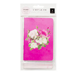Pink Paislee - C'est La Vie Collection - Mini Notebooks with Foil Accents