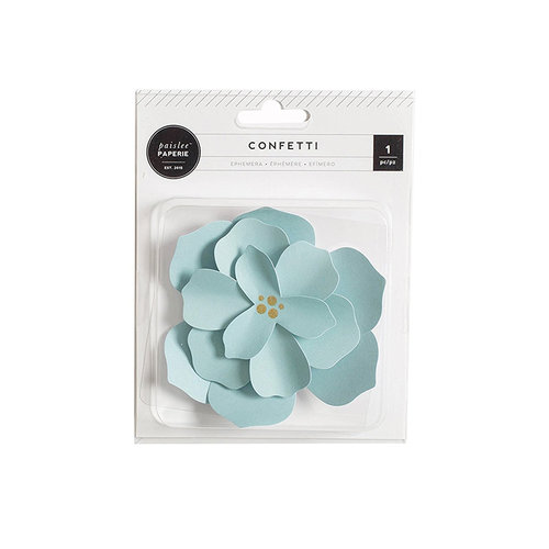 Pink Paislee - Cest La Vie Collection - Paper Flower - Mint