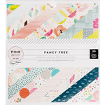 Pink Paislee - Fancy Free Collection - 6 x 6 Paper Pad