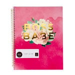 Pink Paislee - Paislee Paperie Collection - Notebook with Foil Accents - 8.5 x 11 - Boss Babe