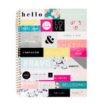 Pink Paislee - Paislee Paperie Collection - Notebook - 8.5 x 11 - Phrases