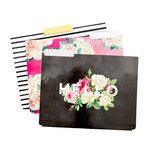 Pink Paislee - Paislee Paperie Collection - Folders - Hello