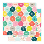 Pink Paislee - Fancy Free Collection - 12 x 12 Double Sided Paper - Paper 03
