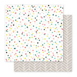 Pink Paislee - Fancy Free Collection - 12 x 12 Double Sided Paper - Paper 04