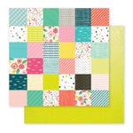 Pink Paislee - Fancy Free Collection - 12 x 12 Double Sided Paper - Paper 06