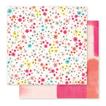 Pink Paislee - Fancy Free Collection - 12 x 12 Double Sided Paper - Paper 11