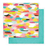 Pink Paislee - Fancy Free Collection - 12 x 12 Double Sided Paper - Paper 12