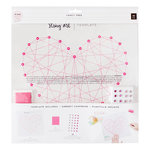 Pink Paislee - Fancy Free Collection - String Art Template - Heart