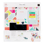 Pink Paislee - Fancy Free Collection - Page Kit - Geometric