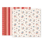 Pink Paislee - Sweet Freedom Collection - 12 x 12 Double Sided Paper - Paper 05