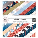 Pink Paislee - Sweet Freedom Collection - 6 x 6 Paper Pad