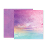 Pink Paislee - Summer Lights Collection - 12 x 12 Double Sided Paper - Paper 2