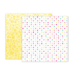 Pink Paislee - Summer Lights Collection - 12 x 12 Double Sided Paper - Paper 3