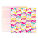 Pink Paislee - Summer Lights Collection - 12 x 12 Double Sided Paper - Paper 4