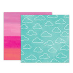 Pink Paislee - Summer Lights Collection - 12 x 12 Double Sided Paper - Paper 5
