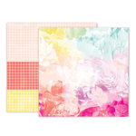 Pink Paislee - Summer Lights Collection - 12 x 12 Double Sided Paper - Paper 8