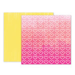 Pink Paislee - Summer Lights Collection - 12 x 12 Double Sided Paper - Paper 11