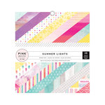 Pink Paislee - Summer Lights Collection - 6 x 6 Paper Pad