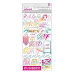 Pink Paislee - Summer Lights Collection - Thickers - Holographic Foil - Icons
