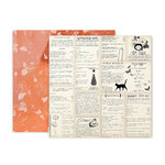 Pink Paislee - Spellcast Collection - Halloween - 12 x 12 Double Sided Paper - Paper 5