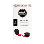 We R Memory Keepers - Typecast Collection - Typewriter Ribbon - Red