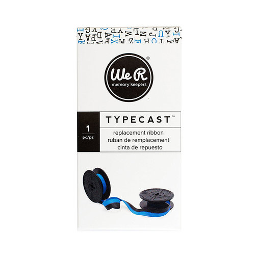 We R Memory Keepers - Typecast Collection - Typewriter Ribbon - Light Blue