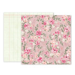 Pink Paislee - Take Me Away Collection - 12 x 12 Double Sided Paper - 02