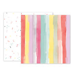 Pink Paislee - Take Me Away Collection - 12 x 12 Double Sided Paper - 04