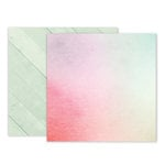 Pink Paislee - Take Me Away Collection - 12 x 12 Double Sided Paper - 08