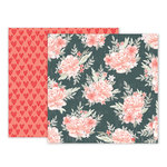 Pink Paislee - Take Me Away Collection - 12 x 12 Double Sided Paper - 10