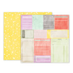 Pink Paislee - Take Me Away Collection - 12 x 12 Double Sided Paper - 11