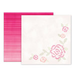 Pink Paislee - Take Me Away Collection - 12 x 12 Double Sided Paper - 14