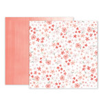 Pink Paislee - Take Me Away Collection - 12 x 12 Double Sided Paper - 17