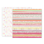 Pink Paislee - Take Me Away Collection - 12 x 12 Double Sided Paper - 19