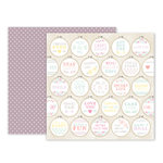 Pink Paislee - Take Me Away Collection - 12 x 12 Double Sided Paper - 20