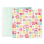 Pink Paislee - Take Me Away Collection - 12 x 12 Double Sided Paper - 21